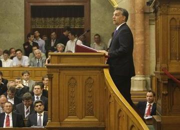 O.V. a parlamentben