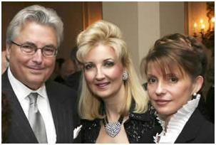 Eric Margolis és Lisa Shymko Yuliya Timoshenko-val