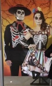 csontváz házaspár
